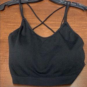 Free People black bra